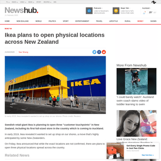 ArchiveBay.com - www.newshub.co.nz/home/money/2020/02/ikea-plans-to-open-physical-locations-across-new-zealand.html - Ikea plans to open physical locations across New Zealand - Newshub