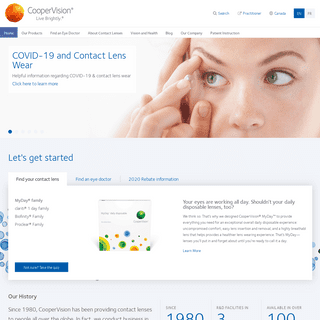 CooperVision Canada - Live Brightly.- Eye Contacts
