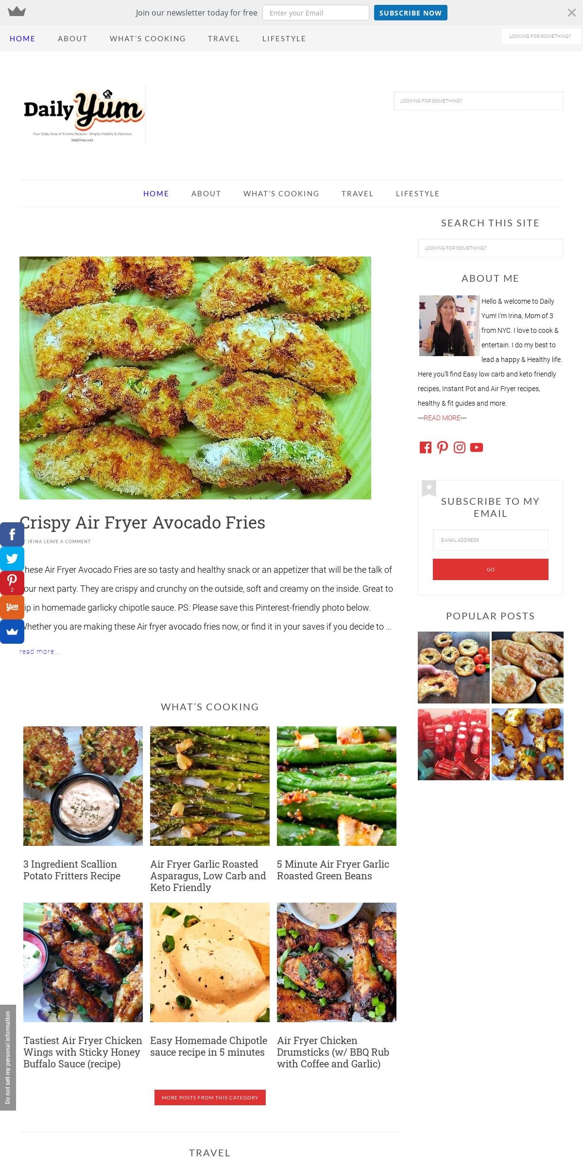 ArchiveBay.com - dailyyum.com - Daily Yum - Enjoy Tips on Food, Lifestyle and Healthy recipes
