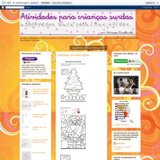 ArchiveBay.com - adriana-rosalinski.blogspot.com - Atividades em libras para crianças surdas