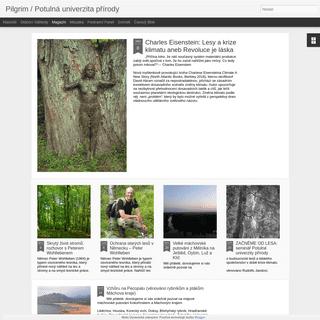 Pilgrim - Potulná univerzita přírody