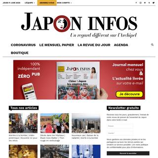 Japon Infos - Un regard différent sur l'Archipel japonais