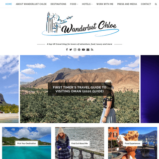 Wanderlust Chloe - A Top UK travel blog
