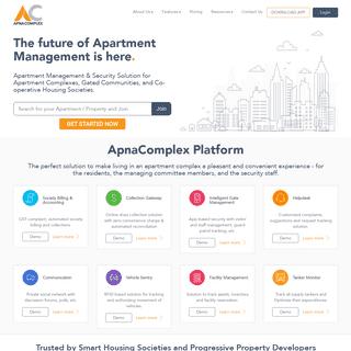 Apartment Society Management Software - ApnaComplex