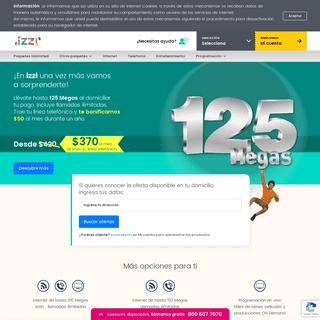 ArchiveBay.com - izzi.mx - Servicios de Internet de Alta Velocidad en Casa o Negocio - izzi