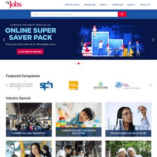Singapore Jobs, Jobs in Singapore, Find IT Jobs, Sales job, Marketing jobs in Singapore - STJobs