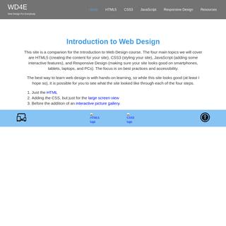 Web Design for Everyone - Home