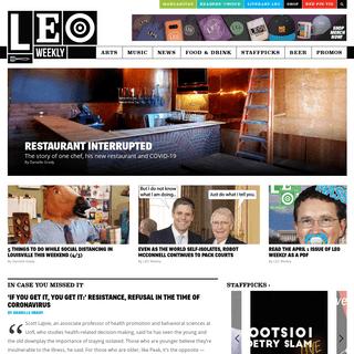 LEO Weekly • Louisville's Alt-Weekly