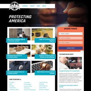 CriminalJusticeUSA.com - Get an Online Criminal Justice Degree
