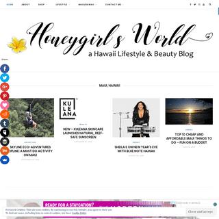 Honeygirl's World - A Hawaii Lifestyle Blog - Honeygirlsworld is a Lifestyle Blog based out of Hawaii.