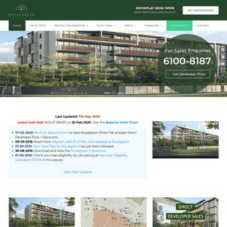 Royalgreen Condo by Allgreen - 61008187 Singapore
