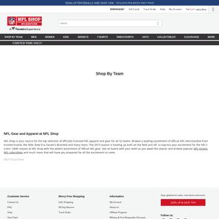 NFLShop - The Official Online Shop of the NFL - 2019 NFL Nike Gear, NFL Apparel & NFL Merchandise
