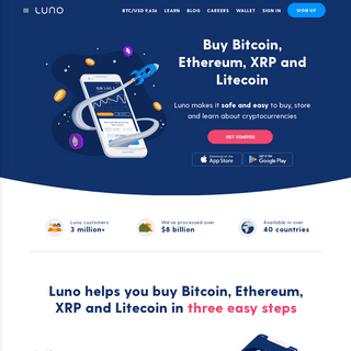 Buy Bitcoin, Ethereum, XRP and Litecoin - Luno