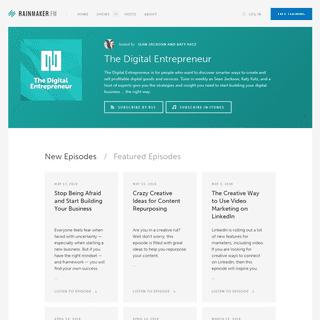 The Digital Entrepreneur Archives - Rainmaker.FM