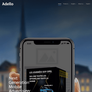 ArchiveBay.com - adello.com - Adello – Mobile audience targeting through deep learning technology and self-improving campaigns