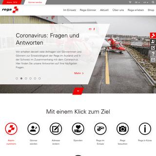 Home - Rega – Swiss Air-Rescue