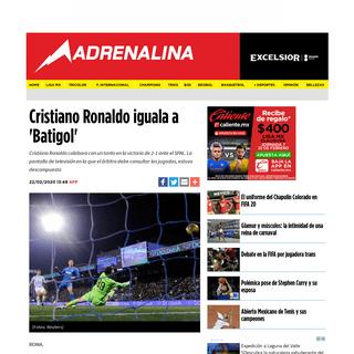Serie A- Cristiano Ronaldo iguala a 'Batigol' - Excélsior