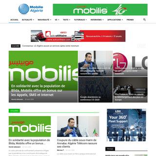 Accueil - Mobile Algérie Le protail de l'actualité des Télécoms et des TIC