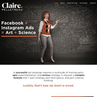 Home - Claire Pelletreau