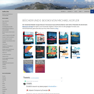 kofler.info - Bücher und E-Books von Michael Kofler.