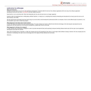 eXtropia - the open web technology company