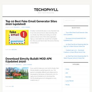 Techophyll - Best Tech Magazine