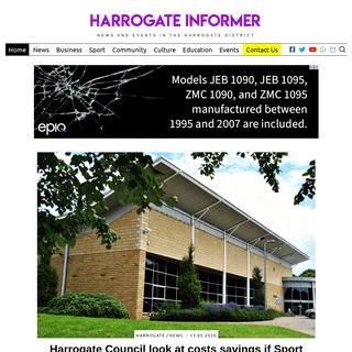 Harrogate Informer - Home Page — Harrogate Informer