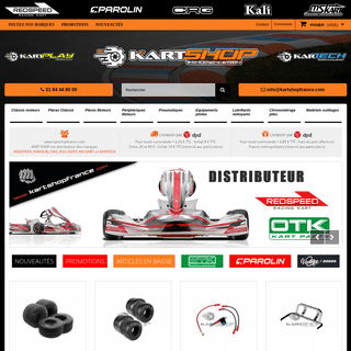 KartShopFrance SITE OFFICIEL, Pièces et accessoires karting