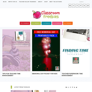 Classroom Freebies - Top educators bringing you the best resources for your classroom every day and always free!