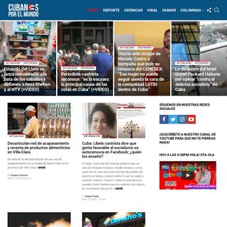 Cubanos por el Mundo - Lo ultimo de Cuba y los cubanos -