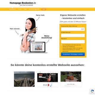 ArchiveBay.com - homepage-baukasten.de - 🏆 Einfach kostenlose Website erstellen - Homepage-Baukasten.de