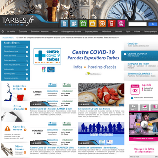 Tarbes - Site officiel de la Mairie