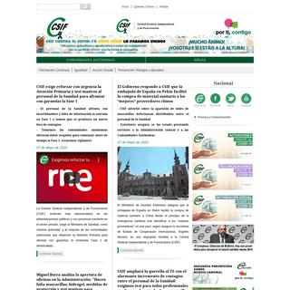 CSIF - Central Sindical Independiente y de Funcionarios