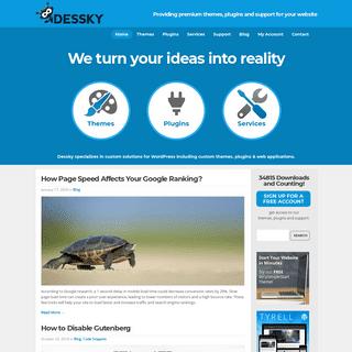 Dessky.com - Premium themes, plugins and support