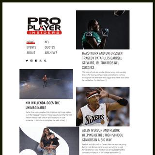 Pro Player Insiders