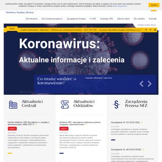Narodowy Fundusz Zdrowia (NFZ) – finansujemy zdrowie Polaków
