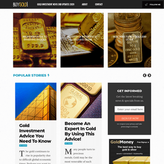 Gold Investment News End Updates 2020 - Gold News