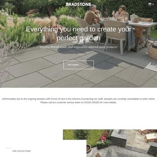 Paving, Walling & Edging For Garden & Driveways - Bradstone