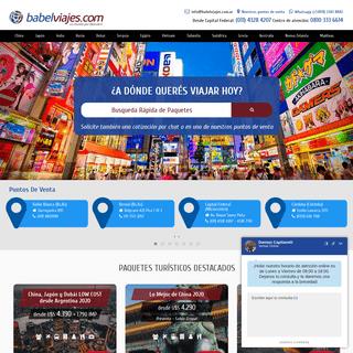 Babel Viajes - Agencia de Viajes y Turismo + de 25 Sucursales en Argentina