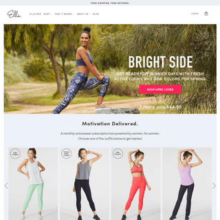 Activewear Monthly Subscription Box - Gym & Workout Clothes For Women