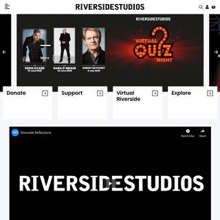 Riverside Studios - open now