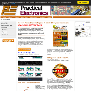 www.epemag.com PE Practical Electronics hobby constructor magazine