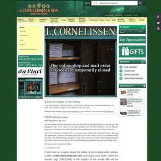 ArchiveBay.com - cornelissen.com - Home page