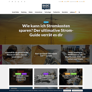 BASIC thinking – Online-Magazin für Social Media, Marketing und Business