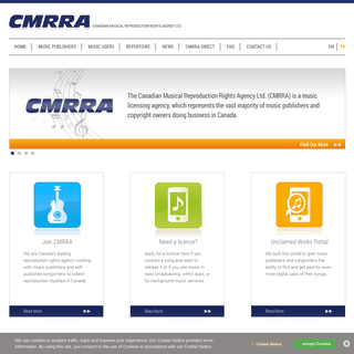 Welcome to CMRRA
