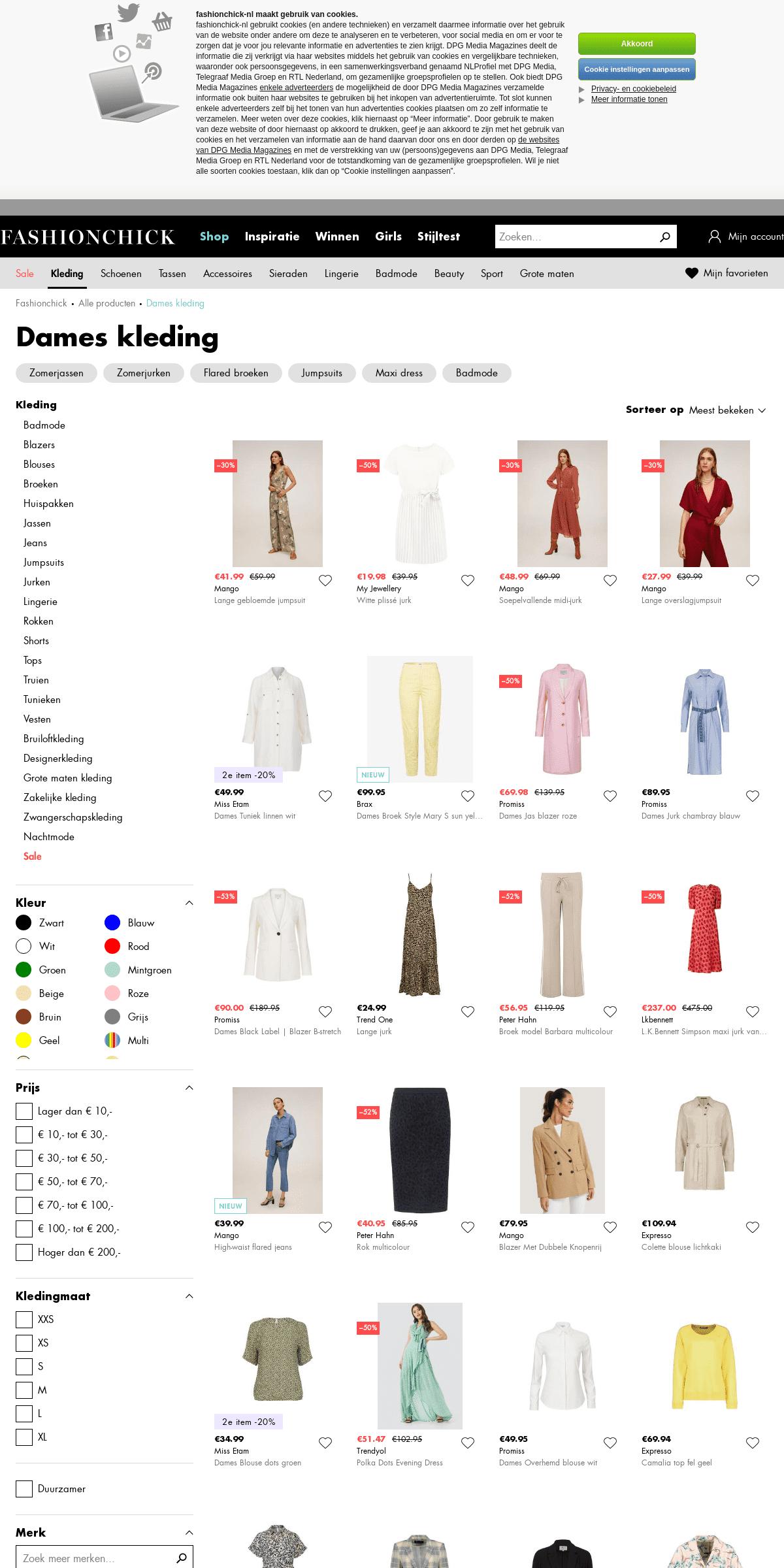 Dames kleding online kopen - Fashionchick.nl - Mode 2020