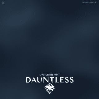 Play Dauntless - Dauntless