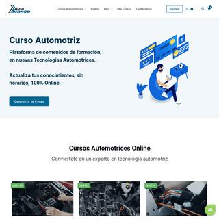 Curso Automotriz - Curso Virtual Automotriz - Capacitación Automotriz