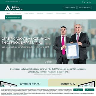 Activa Canarias RRHH - Empresa de Trabajo Temporal, ETT en Canarias, Tenerife, Gran Canaria