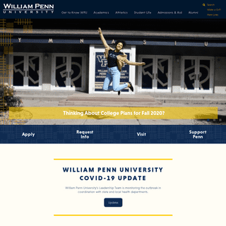 Homepage - William Penn University